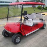 high quality battery powered golf trolley four 4 seats