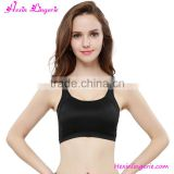 Black Bra With Padded Womens Wholesale Gym Wear