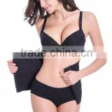 100% Latex Rubber Corset Waist Trainer Cincher Body Shaper Shapewear Black Sport