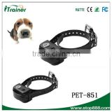 New Electronic Dog Remote Training Collar Vibration Anti Bark Trainer with battery PET851