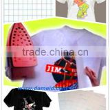 Dark heat transfer paper/ light transfer paper/ t-shirt transfer paper/iron transfer paper