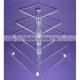 Alibaba china classical acrylic cake stands with lights
