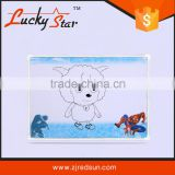 2015 red sun lucky star kids earsable wooden cutting drawing board/transparent drawing and writing boards