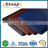 2016 Good quality fabric slip anti fatigue custom door bath tub mat