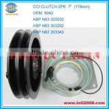 "CCI clutch york 210 magnetic clutch pulley 2PK 24V 7"" 5042 ABP N83 303032 ABP N83 303292 ABP N83 303342 75R3454 75R4534 75R455"