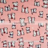INquiry about 92% Poly and 8% Spansex Good Handtouch Super Soft Velvet Children Design