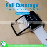 Full Cover 0.2MM 9H 3D Full Curved Anti-Broken Tempered Glass Screen Protector for Apple Watch