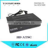 2015 High Definition H,264/MPEG4 Set Top Box ATSC for Air Channels 1080P HD Video Output set top box