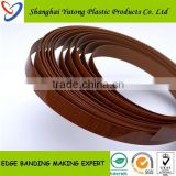 two colors acrylic cabinet door edge banding trim for furniture protection