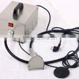 Low price strong power manufacturer direct 220VAC electric kebab doner meat cutter machine with cord for roaster