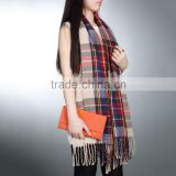Blanket Oversized Tartan Scarf Plaid Checked Wrap Shawl Bloggers Favourite