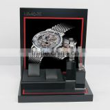 Stylish Wood Watch Display Counter Watch Showcase Acrylic Watch Display