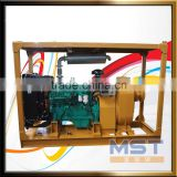 Hydrostat Dry Self Priming Solid Handling Diesel Engine Pump