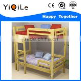Novel design children furniture non-toxic playwood double deck bed for kids