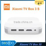 New Original Xiaomi Mi TV Box 3 pro Android 5.1 Smart 4K HD Mi TV Mi Box 3S 2G+8G Dual USB Support Miracast,Airplay,DLNA