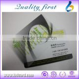 Hot Sell Blank PVC Business Cards / NFC Transparent Cards