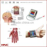 latest machine stainless stell watch electric pulse therapy laser device