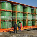 INquiry about Hot sale TPU geomembrane Pond Liner fish farm pond dam liners