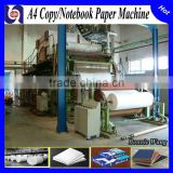 automatic waste paper recycling machine office a4 copy paper news printing paper making machine production line prices