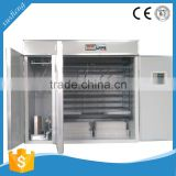 hina supplier factory price 2112 chicken eggs fully automatic incubator, chicken egg incubator hatching machine
