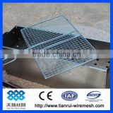 Balcony Design Round Grates Barbecue Grill Wire Mesh