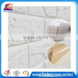 Factory direct sale decorative brick wall panel pe brick foam board diy 3d soft wallpaper