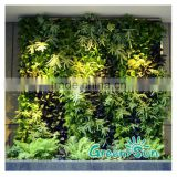 Artificial green plant wall/ hanging decorative flower wall for indoor & outdoor