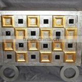 Elegant Gold Silver Color Side Cabinet ,furniture hobby lobby Cardboard