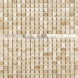 High Quality Crema Marfil Premium Mosaic Tiles For Bathroom/Flooring/Wall etc & Best Marble Price