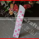Cloth bamboo hand fan bag as gift pouch or packing