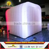 Hot sale inflatable LED photo booth selfie mirror photo booth inflatable photo booth wall for sale