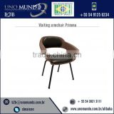 Modern Design Trendy Look Beauty Salon Waiting Chair