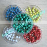 Paper Cliped 6mm Ball Head Map Tack Pins