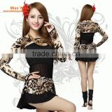 cheap women sexy Leopard belly dance costumes