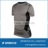 CP-1314 customized mens short compression, mens compression top short, short compession for mens