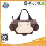 cute animal plush shopping bag
