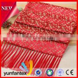 2016 the latest design beautiful and high quality chinese traditional style scarf best gift for wife friends parents
