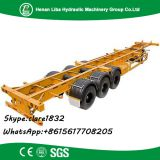 Fuwa Axle Low Bed Semi Trailer Liba Transport Low Bed Trailer