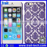Retro Royal Court Flowers Pattern Hard Case for iPhone 6 4.7 inch