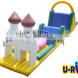 2017 Hot Sale Inflatable Combo Slide Games in outdoor