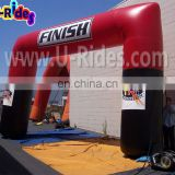 Double Color Inflatable Advertising Arches For Sale