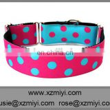 Factory products lovely polka dots collars for dogs