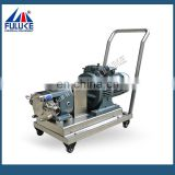 Fuluke high quantity sanitary stainless steel rotor pump