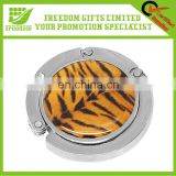 Tiger Print Promotional Collapsible Handbag Hanger