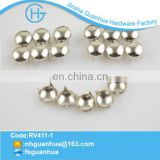 Fashion design metal gold dome studs