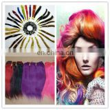 Hot sale factory cheap price high quality sell best colored two tone hair weave