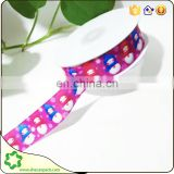 SHECAN 5/8 Christmas tree printed ribbon