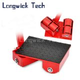 Heavy Duty Turnable Transport Load Carrying Roller Moving Trolley Skates