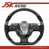 2008-2015 CARBON FIBER STEERING WHEEL FOR AUDI R8 V8 V10 (WRAP CARBON)(JSK031026)