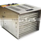 Hot Selling Electric Food drying machine with 10 Trays